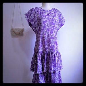 Dresses & Skirts - 👗 purple and white